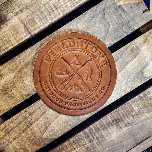 Fieldstone Leather Coasters (4)