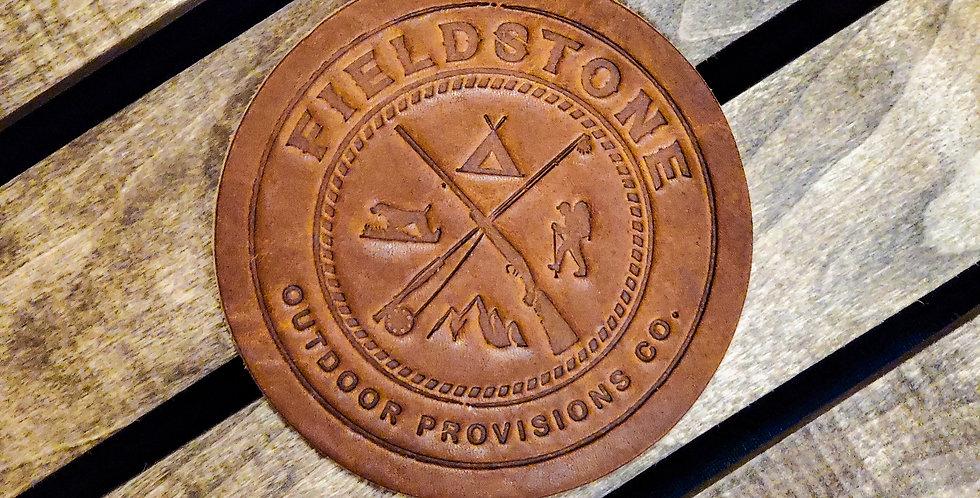 Fieldstone Leather Coasters (4)