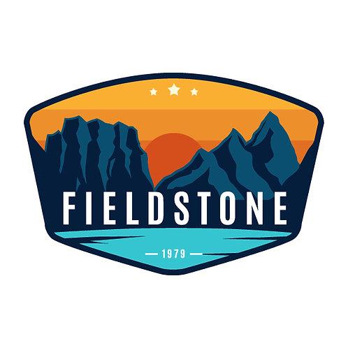 Fieldstone Mountain View Sticker