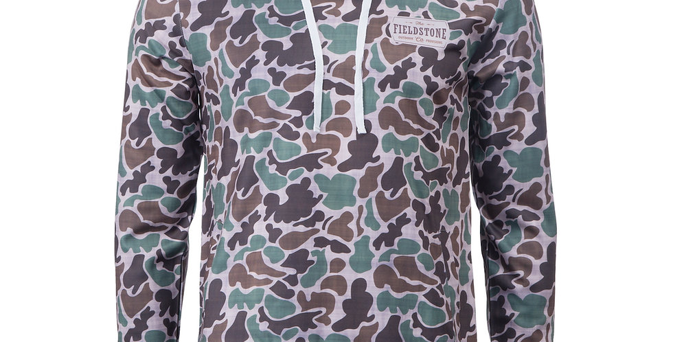 Camo Mid-Weight Hoodie