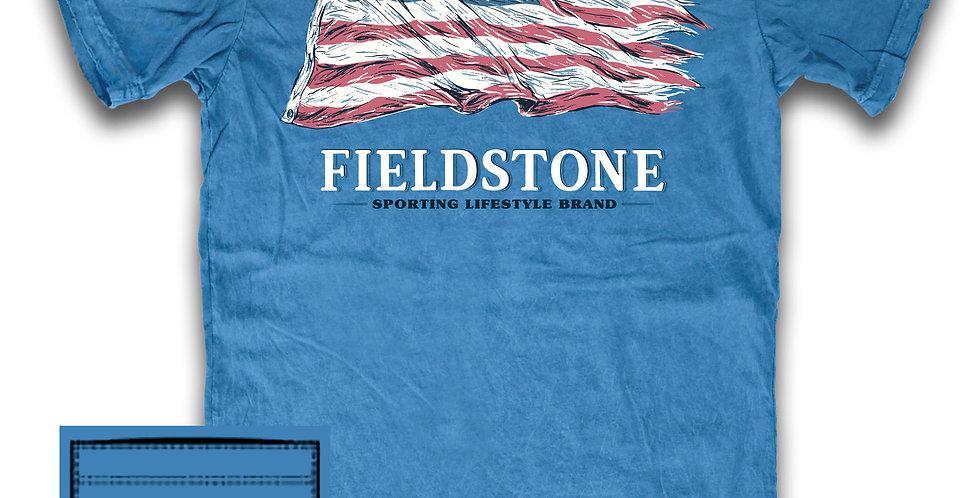 Fieldstone Distressed Flag