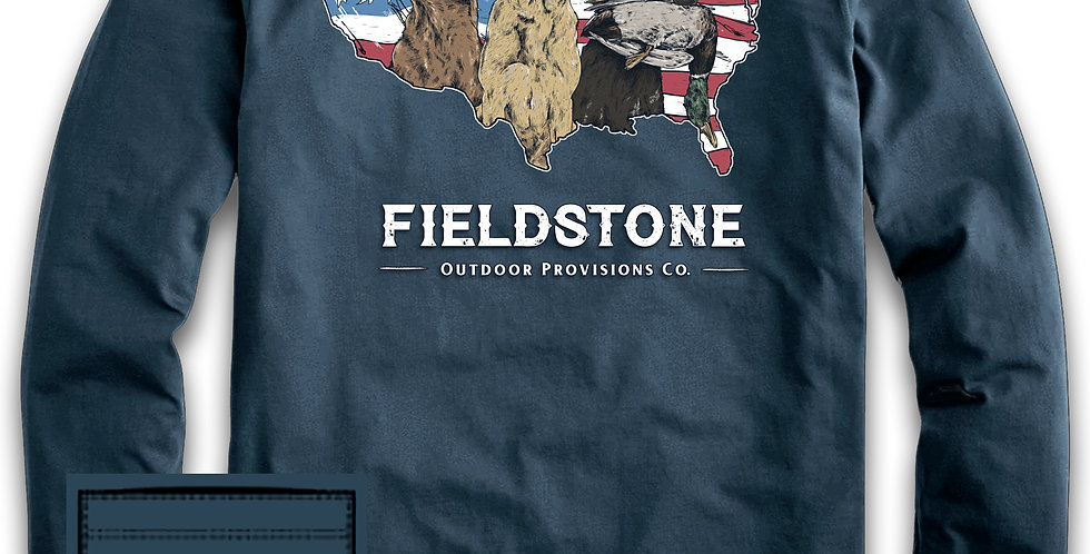 Fieldstone Long Sleeve USA Bird Dog's