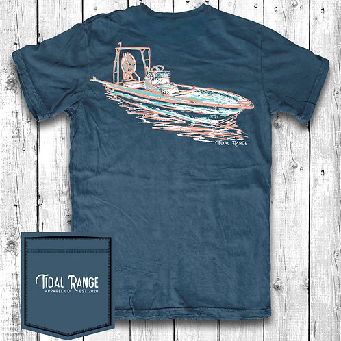 Tidal Range Flat Boat