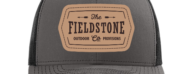 Fieldstone YOUTH Leather Patch Hat