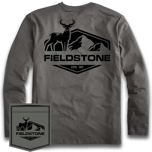 Fieldstone Buck Long Sleeve Tee