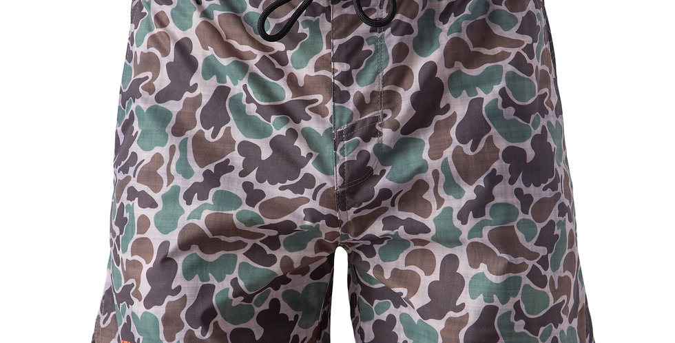 Youth Camo Active Shorts 5""