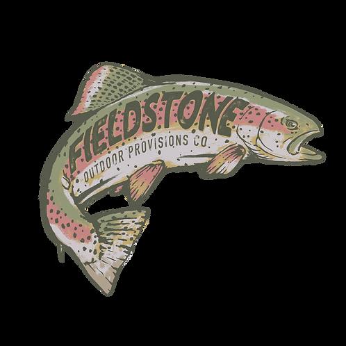 Fieldstone Trout Sticker