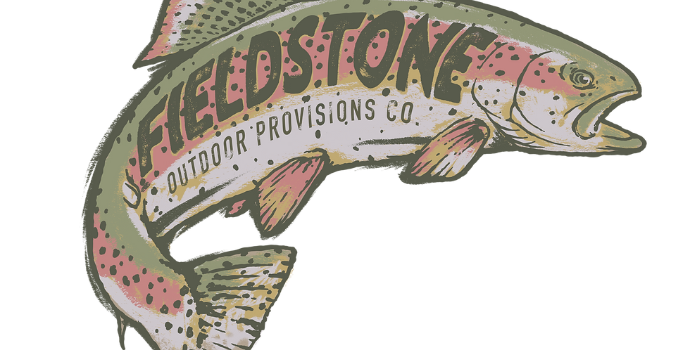 Fieldstone Trout Sticker
