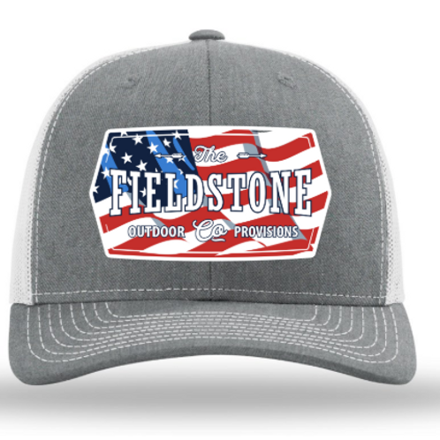 Fieldstone Red, White and Blue Hat