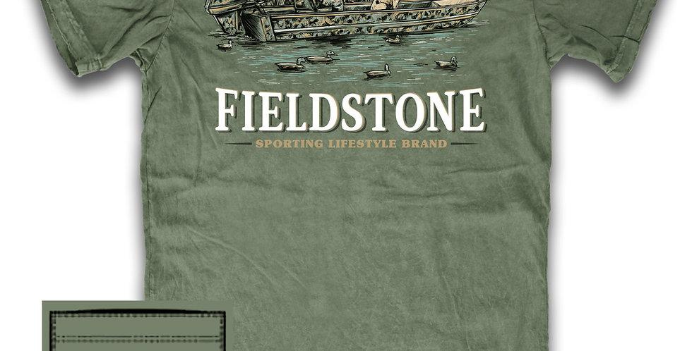 Fieldstone Duck Boat