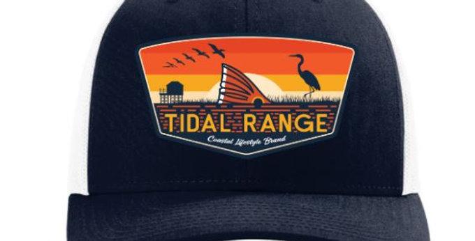 Tidal Range Sunset Hat