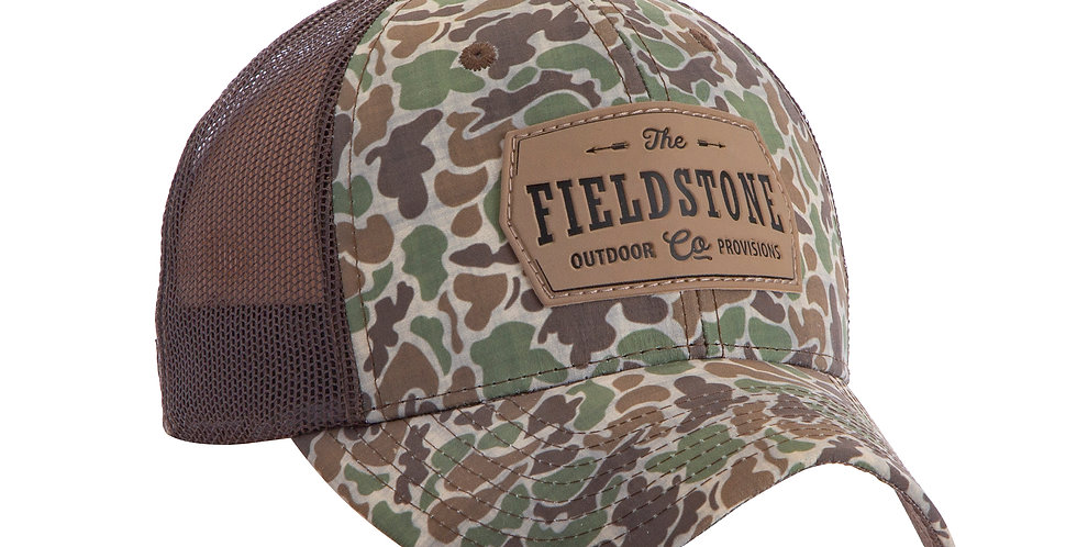 Fieldstone Old School Camo Hat