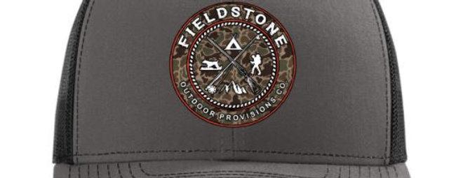 Fieldstone Camo Logo Hat
