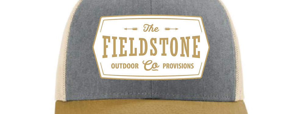 Fieldstone Trucker Tri-Color Patch Hat