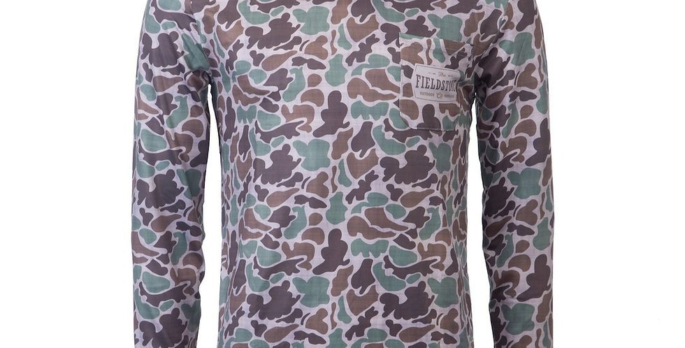 Dry-fit Camo Hoodie