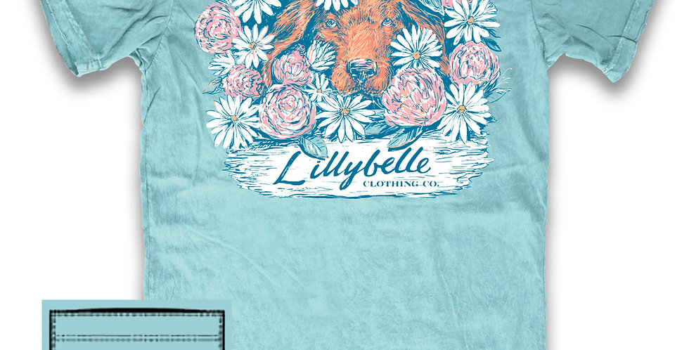Lillybelle Puppy Flowers