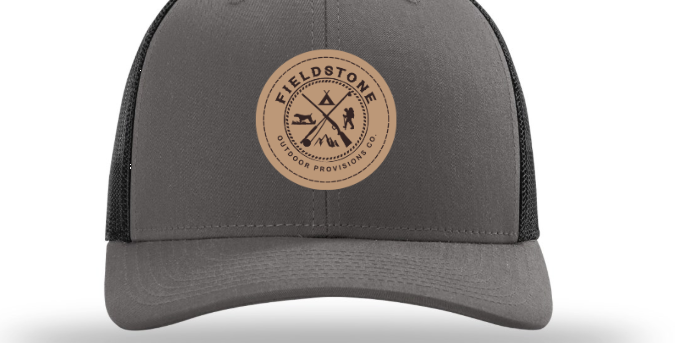 Fieldstone Leather Circle Patch