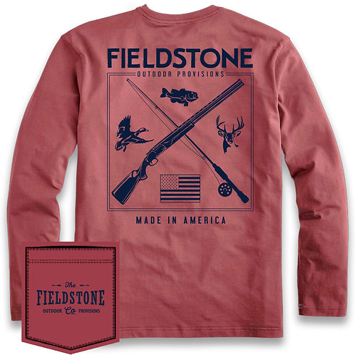 Fieldstone Hunting & Fishing Tee Longsleeve