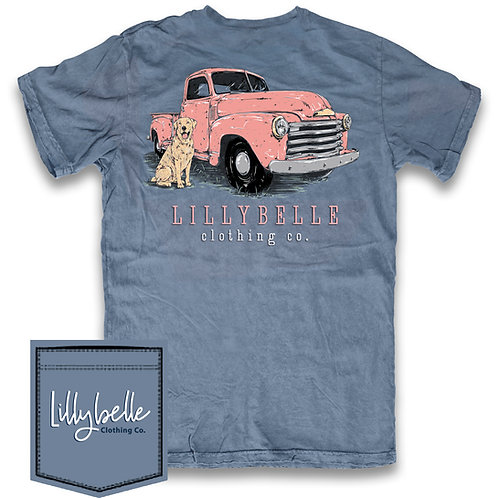 Lillybelle Pink Truck