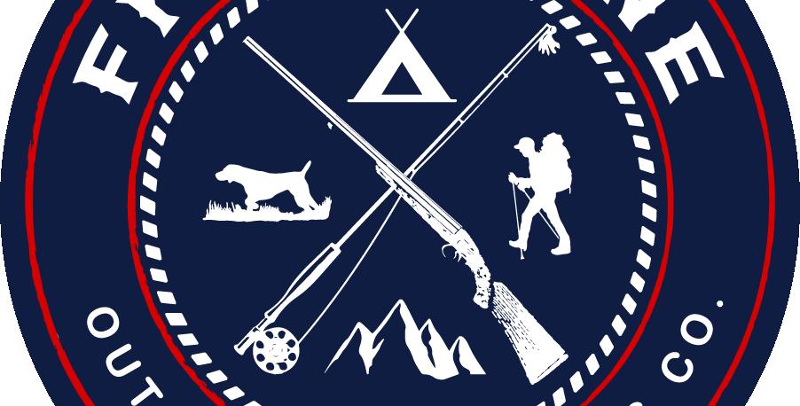Fieldstone Navy Logo Sticker