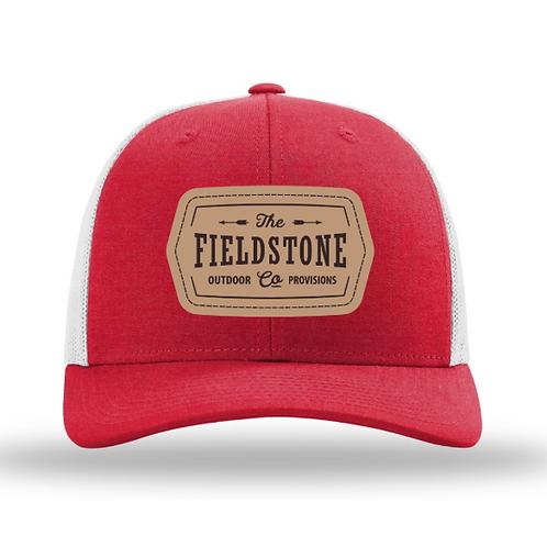 Fieldstone Leather Patch Hat