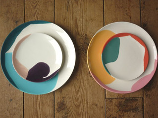 Plates: all shapes and sizes.