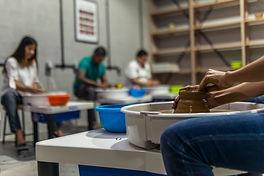 workshop pottery ceramics classes art fun handmade yadawei dubai uae