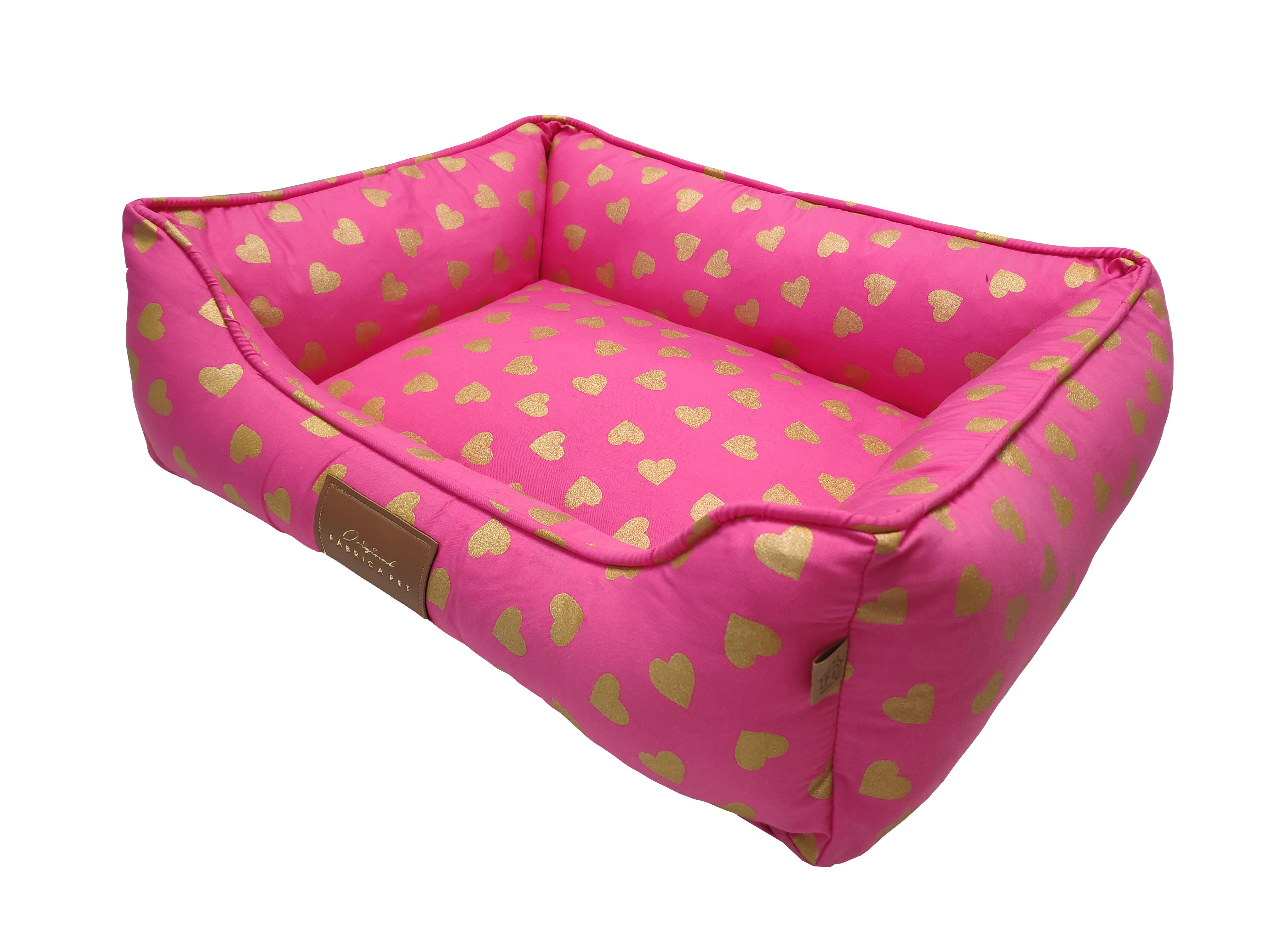 Cama Love rosa perfil