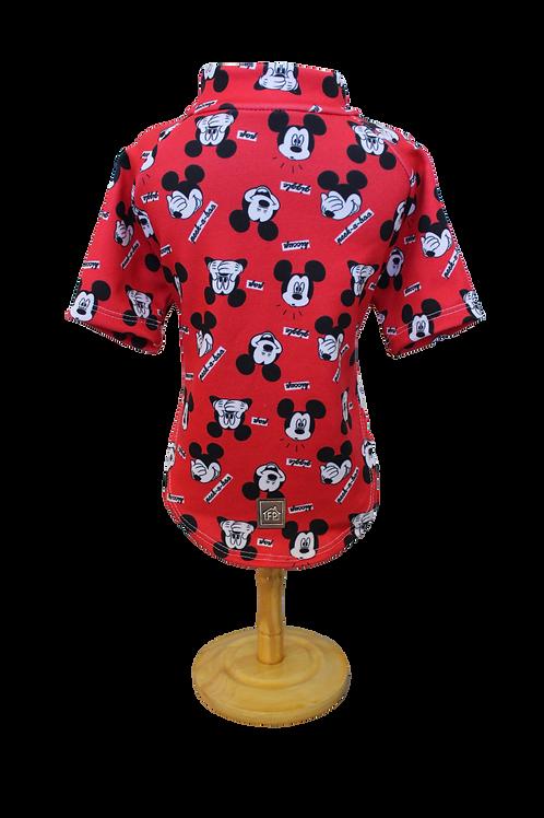 Blusa Vermelha Mickey