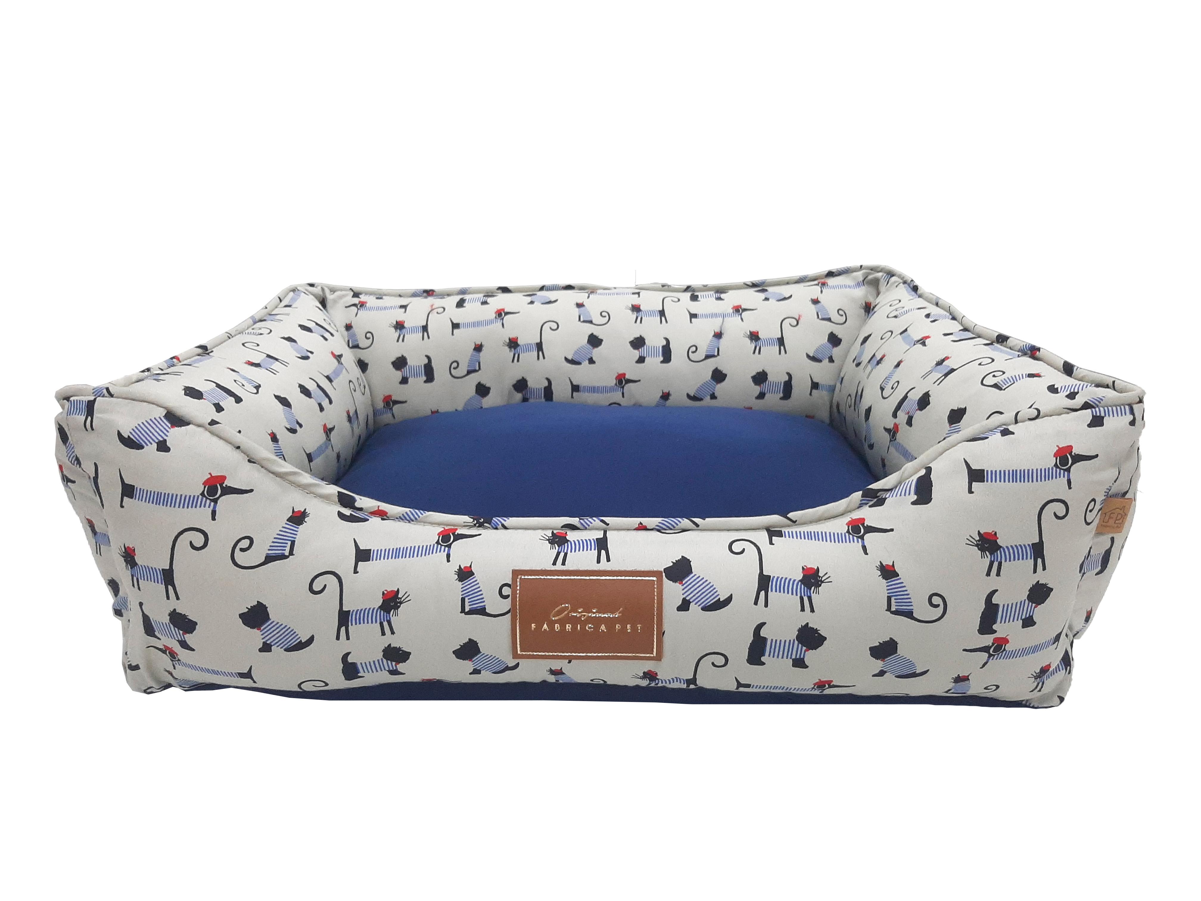 cama bistro azul