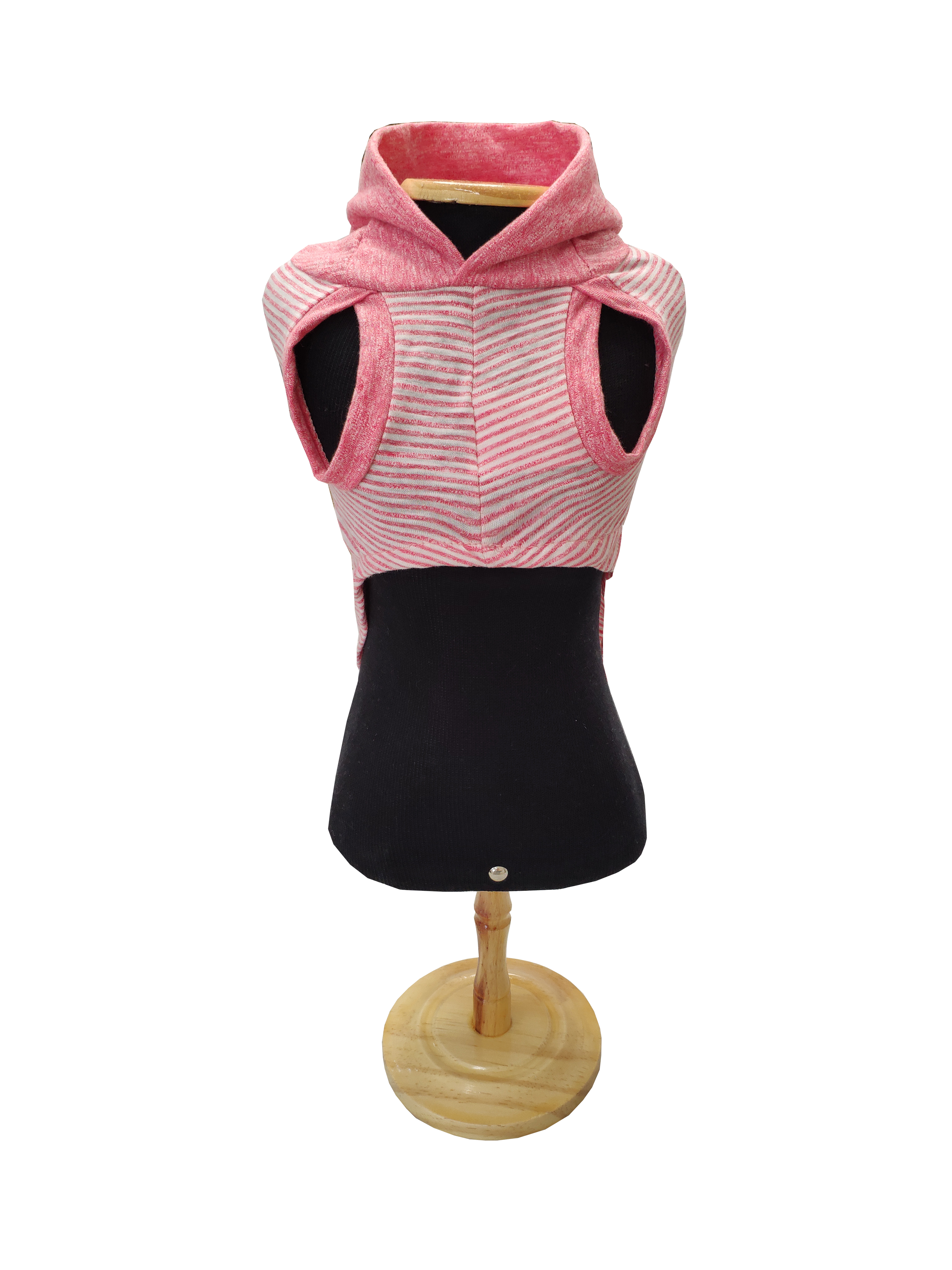 Blusa Capz Fem Listra Rosa frente