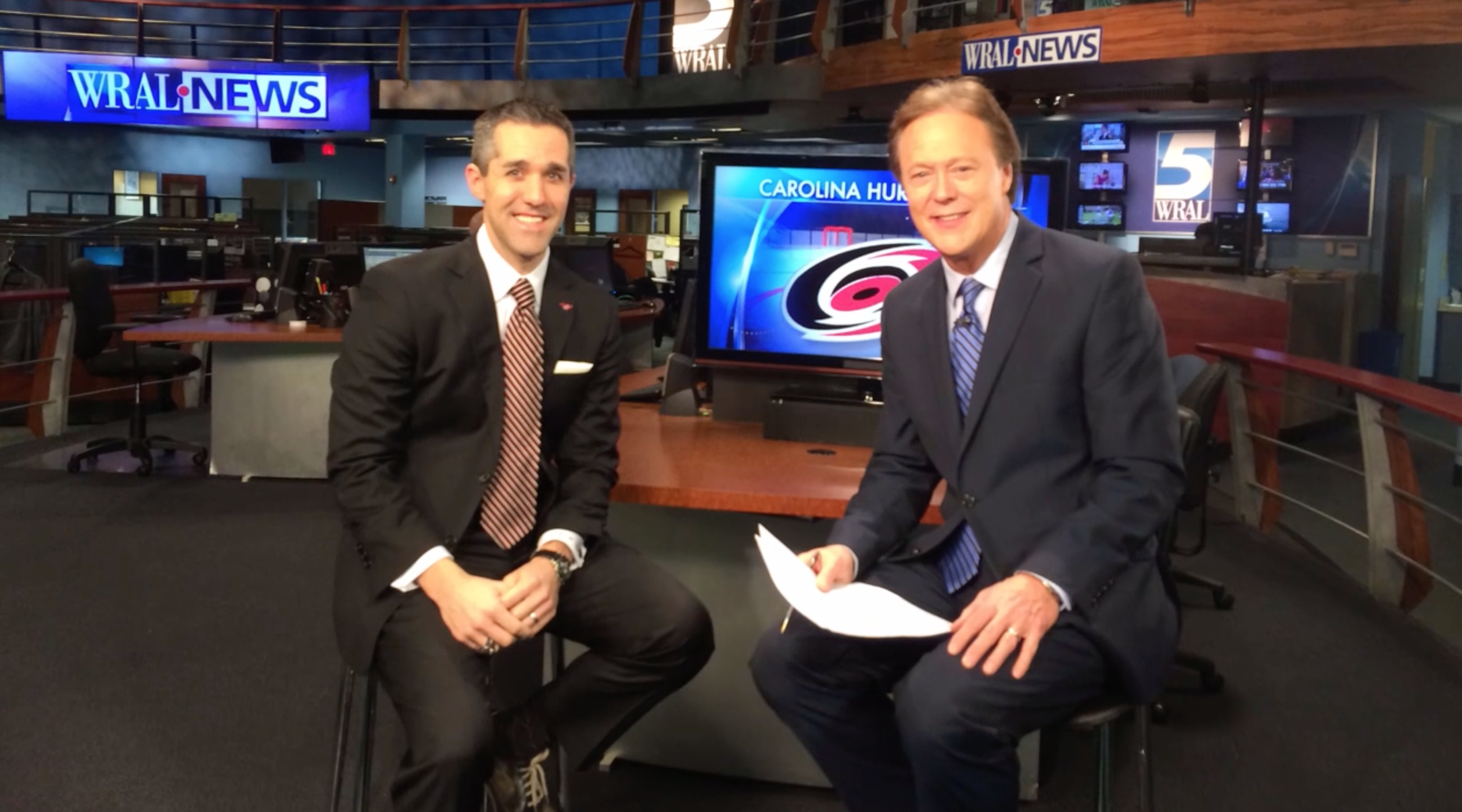 Carolina Hurricanes at WRAL