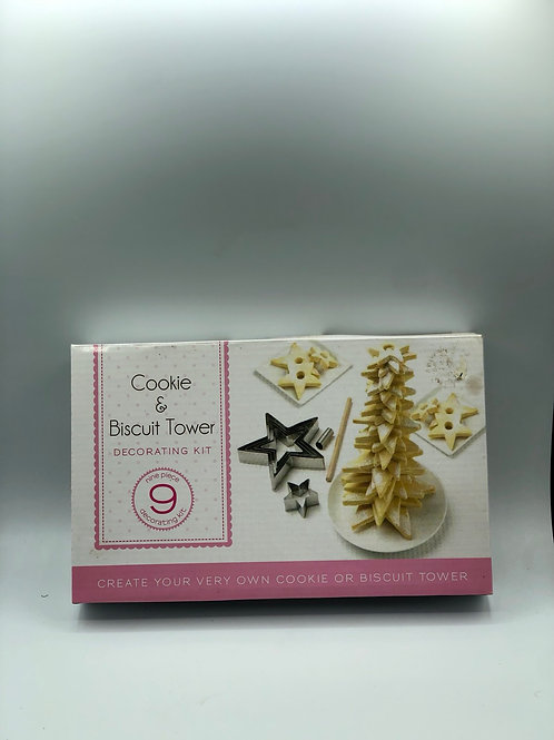Cookie and Biscuit Tower Decorating Set (X)
