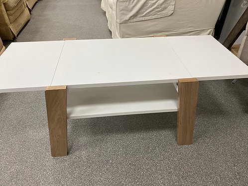 Extending coffee table (SS dine 79 white)