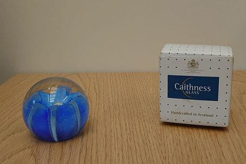 Caithness glass paper weight (J1)