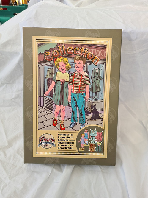 Vintage style paper dolls, new (D1)