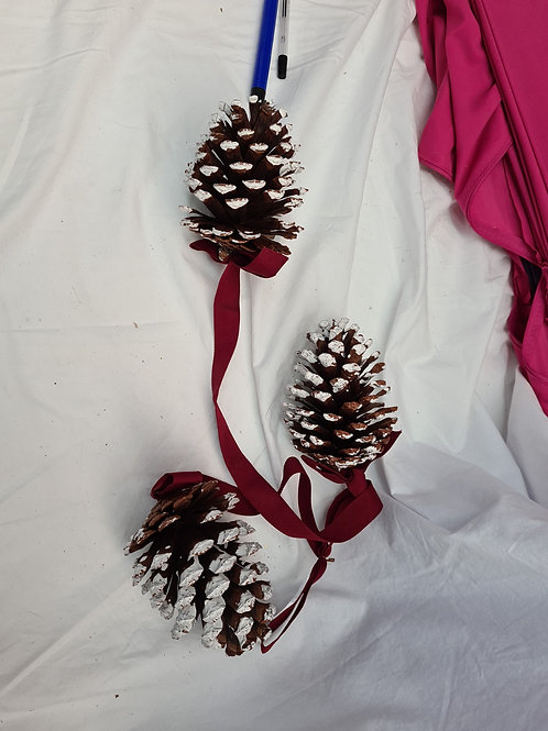 Hanging large cone decoration (xmas1)