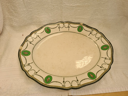 Royal Doulton platter countess style, 2 chips as shown in photo (P)