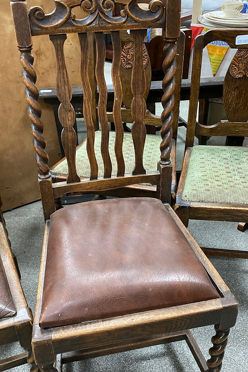 Vintage dining chair  (SS dine  2 - chair )