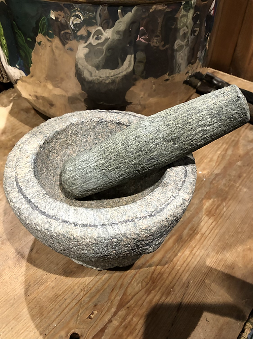 Heavy Stone Pestle and Mortar (N1)