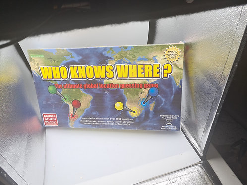 Who Knows Where new sealed game (GC7)
