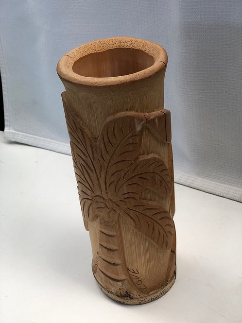 Bamboo Handcarved Pot
