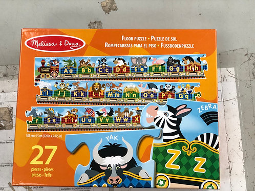 Large Melissa and Doug Floor Puzzle (0:4)