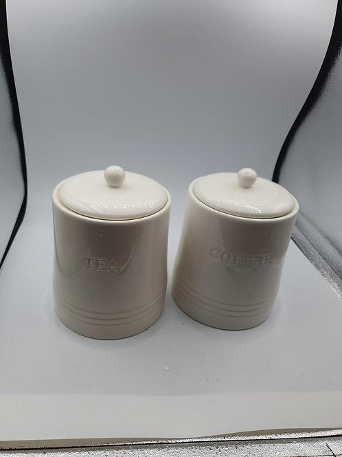 White tea and coffee pots (ES3)