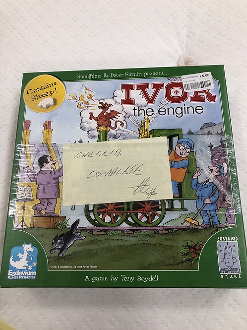 Wooden Ivor The Engine Game (GC7)