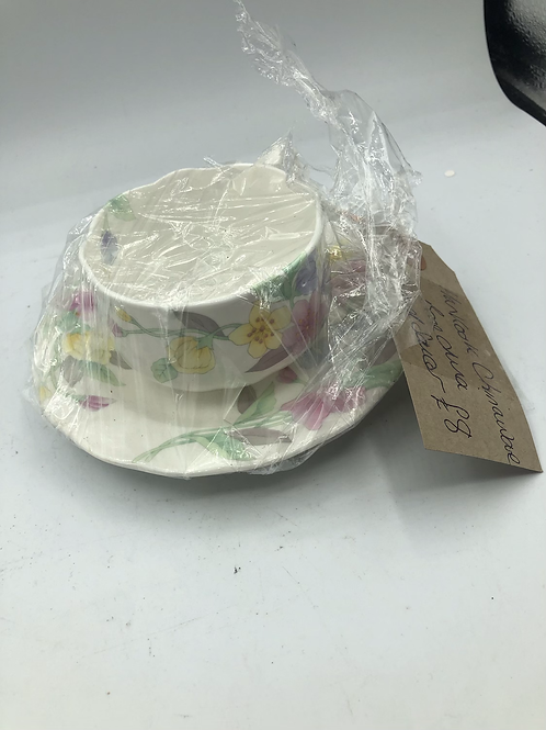 Vintage cup and saucer (g1)