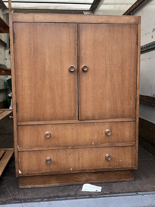 Solid wood cabinet (SS Bed 300 B)