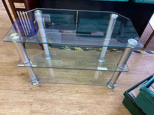 Glass TV Unit (SS Dine 519 TU)