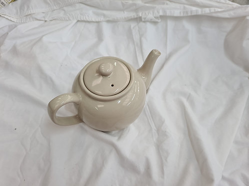 Large cream teapot (ES3)