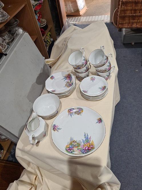 Bavaria ME 22, 6 piece tea set (I)